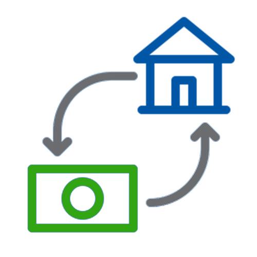 Mortgage Process Icon